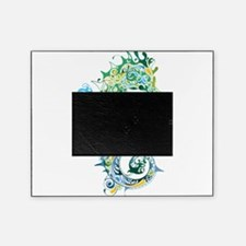 Paisley Seahorse Picture Frame