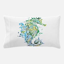 Paisley Seahorse Pillow Case