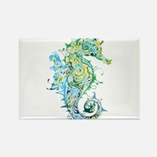 Paisley Seahorse Magnets