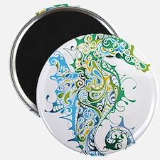Paisley Seahorse Magnets