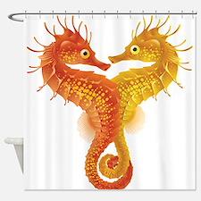 Seahorse Dance Shower Curtain