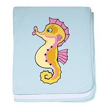 Baby Seahorse baby blanket