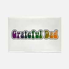 Grateful Dad Rectangle Magnet