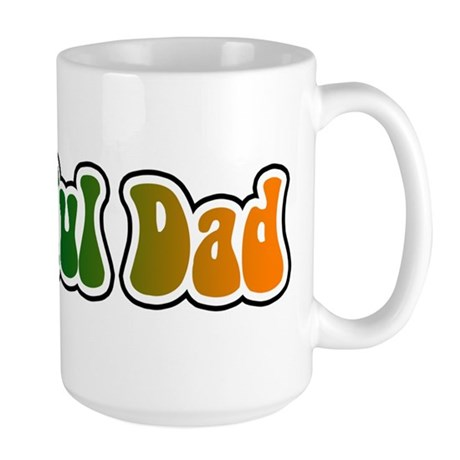 Grateful Dad Large Mug