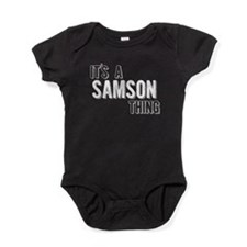 Its A Samson Thing Baby Bodysuit