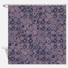 Abstract Mauve Shower Curtain