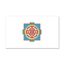 Shree Yantra Car Magnet 20 x 12