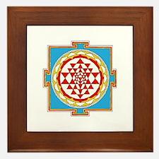 Shree Yantra Framed Tile