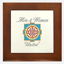 Men&Women United Framed Tile