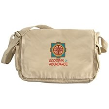 Goddess Of ABUNDANCE Messenger Bag