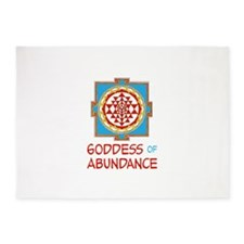 Goddess Of ABUNDANCE 5'x7'Area Rug