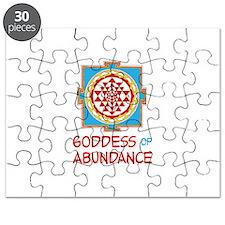 Goddess Of ABUNDANCE Puzzle