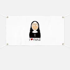 I Love Nuns Banner