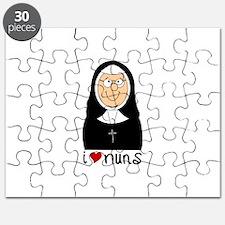 I Love Nuns Puzzle