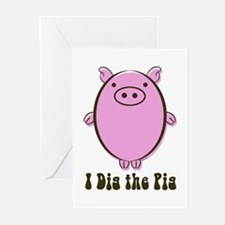 Dig5 Greeting Cards