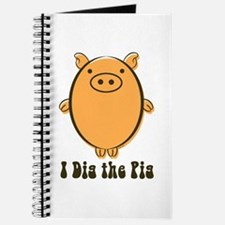 Cute Year of the pig Journal