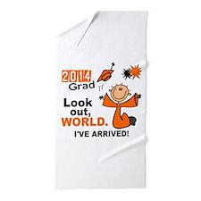 2014 Stick Grad 1.1 Orange Beach Towel