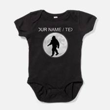 Custom Bigfoot Moon Baby Bodysuit
