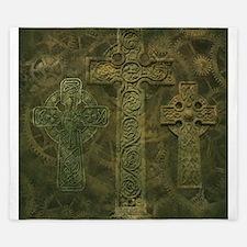 Celtic Crosses and Clockwork King Duvet
