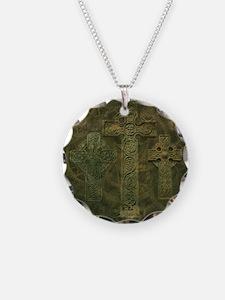 Celtic Crosses and Clockwork Necklace