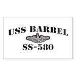 USS BARBEL Sticker (Rectangle)