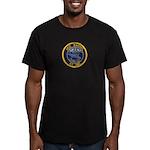 USS BARBEL Men's Fitted T-Shirt (dark)