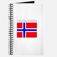Trondheim, Norway Flag (Dark) Journal
