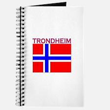Trondheim, Norway Flag Journal