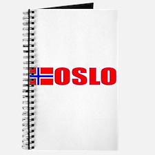 Oslo, Norway Flag II Journal