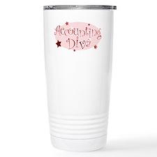 Cute Accountant Travel Mug