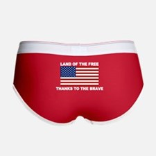 Land Of The Free Thanks To The Brave Women's Boy B