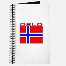 Oslo, Norway Flag Journal