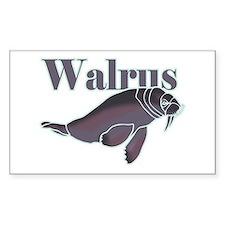 Walrus Decal