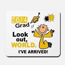 2014 Stick Grad 1.1 Gold Mousepad