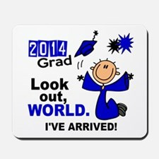 2014 Stick Grad 1.1 Blue Mousepad