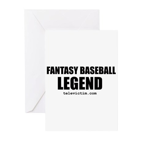 """LEGEND"" Greeting Cards (Pk of 10)"