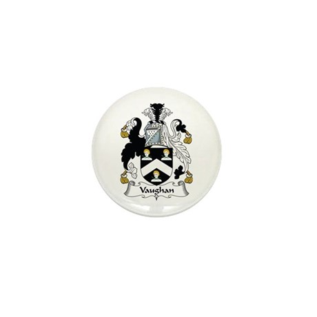 Vaughan (Wales) Mini Button (100 pack)