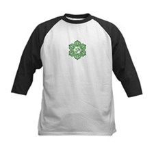 Green Lotus Flower Yoga Om Baseball Jersey
