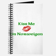 Kiss Me I'm Norweigan Journal