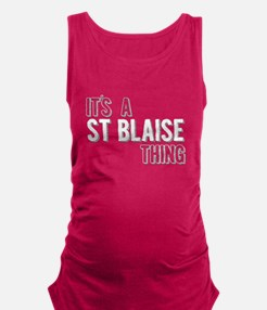 Its A St Blaise Thing Maternity Tank Top