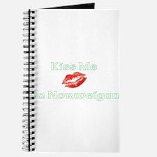 Kiss Me I'm Norweigan (Dark) Journal