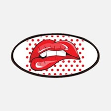Pop Art Lips Patches