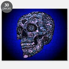 Blue Skull Puzzle