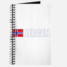 Bergen, Norway Flag II (Dark) Journal