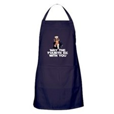 May The Fourth Be With You Apron (dark)