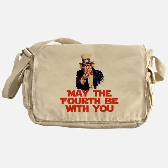 May The Fourth Be With You Messenger Bag