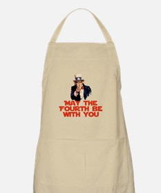 May The Fourth Be With You Apron