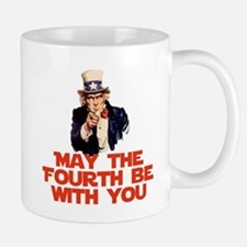 May The Fourth Be With You Mugs