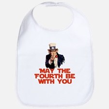 May The Fourth Be With You Bib