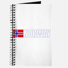 Norway Flag II (Dark) Journal